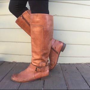 """Leather Nine West Vintage """"Vashiza"""" boots"""